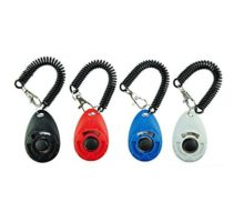 [2017 NEW UPGRADE version] Dog Training Clicker with Wrist Strap  Pet Training Clicker Set by Ecocity
